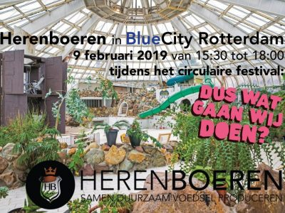 Herenboeren in BlueCity