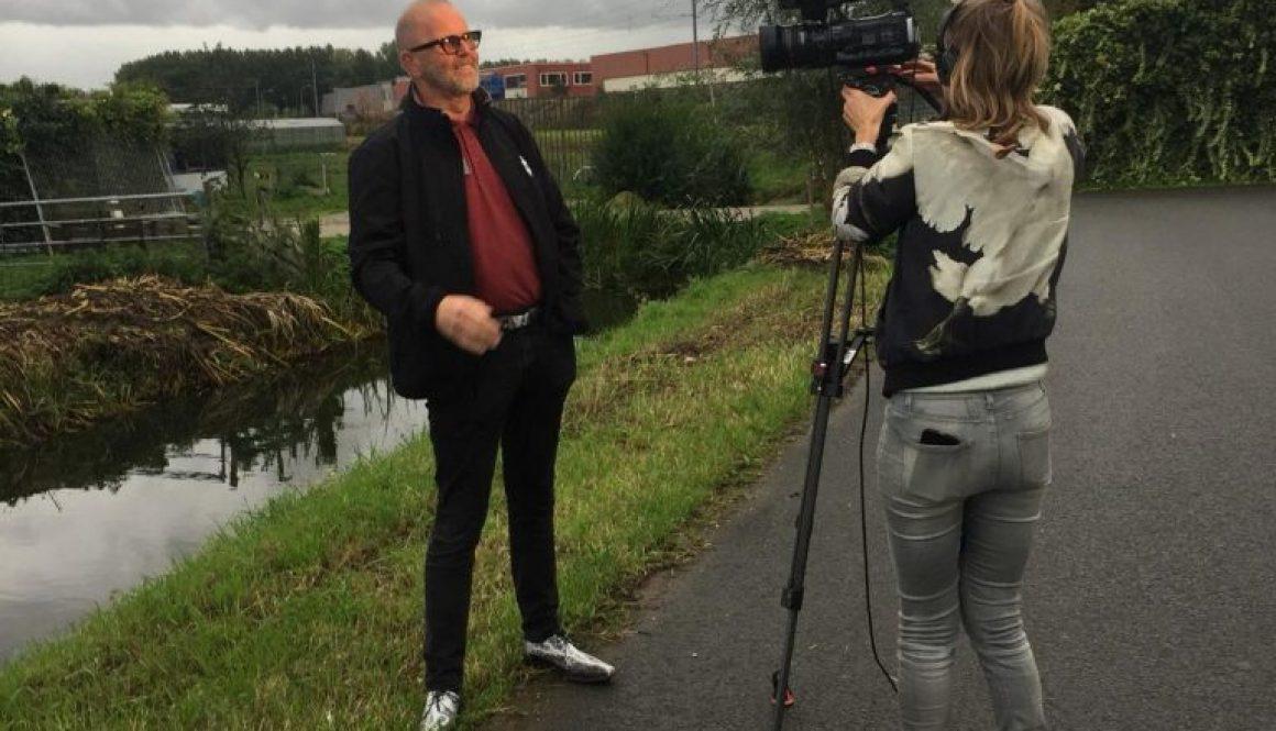 Interview met Radio en TV Rijnmond